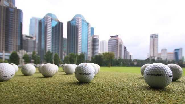 Lapangan Golf Berskala Internasional