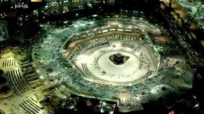 Suasana di Kabah, Di Makkah