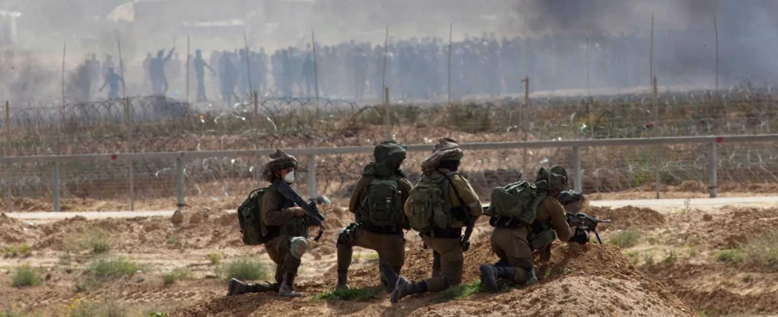 Penembak Jitu Israel di jalur Gaza
