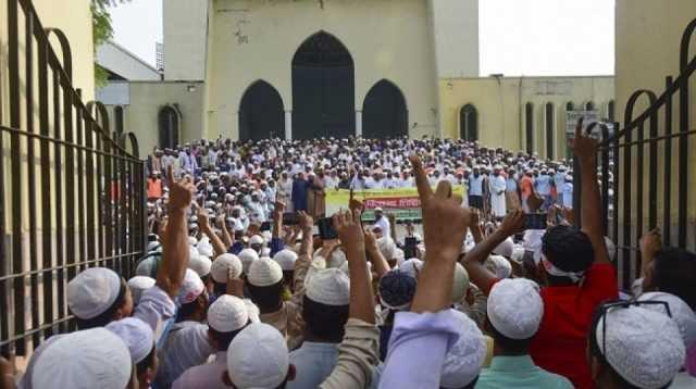 Ribuan Warga Muslim Bangladesh Tolak Kunjungan PM India