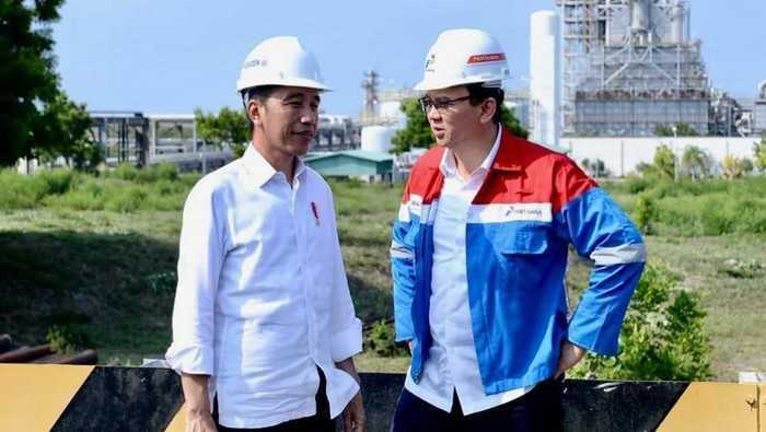 Jokowi dan Basuki Tjahaja Purnama