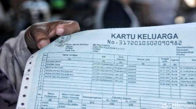 Cetak KK dan Akta Diganti kertas HVS
