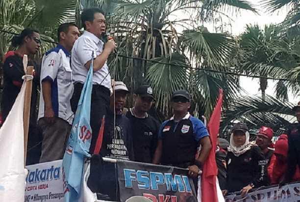 Ribuan Buruh Jakarta
