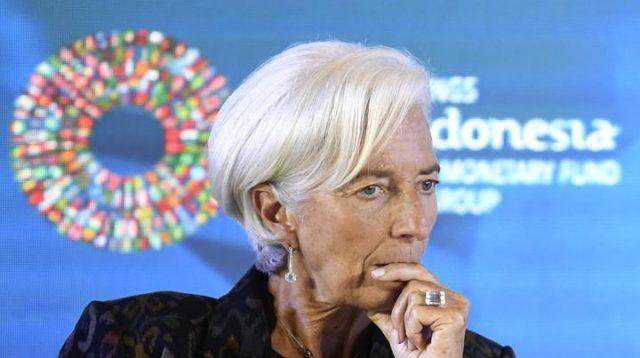Direktur Pelaksana International Monetary Fund (IMF) Christine Lagarde