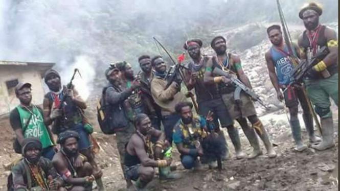 Pospol Papua Diserang KKB