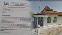 Surat Rencana Pembongkaran Masjid di Banyumas