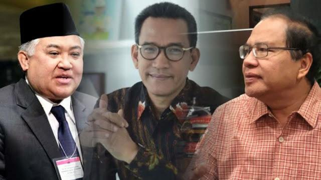 Rizal Ramli, Din dan Refly Didaulat Rakyat Pimpin Oposisi