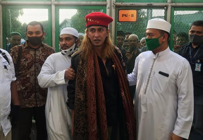 Habib Bahar saat dibebaskan pada Sabtu