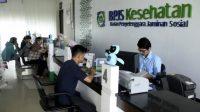 Loket pembayaran BPJS Kesehatan/Net