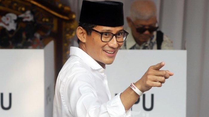 Ini Komentar Sandiaga Uno Soal Jokowi Ancam Reshuffle Kabinet