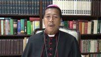 Viral Uskup Katolik Ucapkan Selamat Lebaran Pakai Bahasa Arab