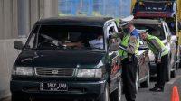 19.556 Kendaraan Hendak Mudik Dari Jakarta Digagalkan Polisi