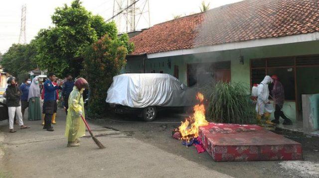 Penemuan mayat wanita di Depok. (Foto: Dok. Istimewa)