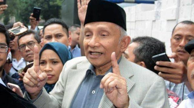 Amin Rais, salah satu penggugat perppu korona (Sumber foto : Istimewa)