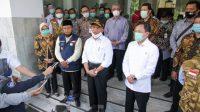 Pantau Kondisi Kasus Covid-19, Menko PMK dan Menkes Terawan Datangi RSHS Bandung.