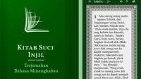 Soal Injil Berbahasa Minang, Kementerian Agama: Sah-sah Saja