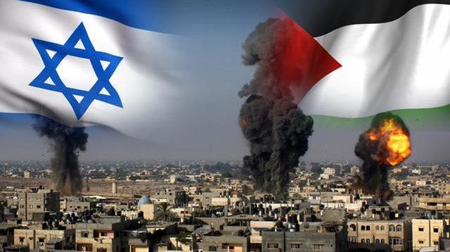 Ilustrasi Konflik Palestina Israel
