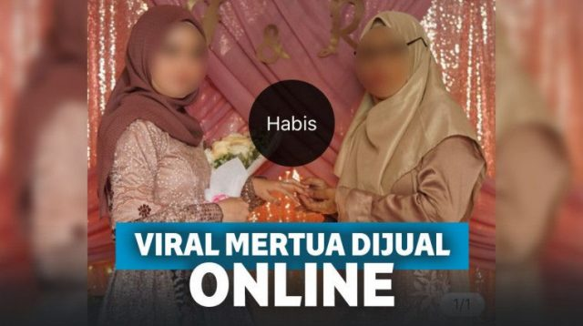 Viral Menantu Jual Mertua Rp.3000 Di Online Shop, Netizen: Neraka Jalur VVIP