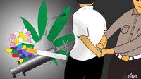 Didapati Bawa Narkoba, 2 Mahasiswa Ditangkap Polisi