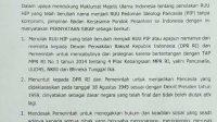Pondok Pesantren Se Indonesia Ikuti Maklumat MUI Tolak RUU HIP