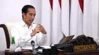 Beri Sambutan di KLB Gerindra, Jokowi Bicara Kondisi Ekonomi Saat Pandemi Corona