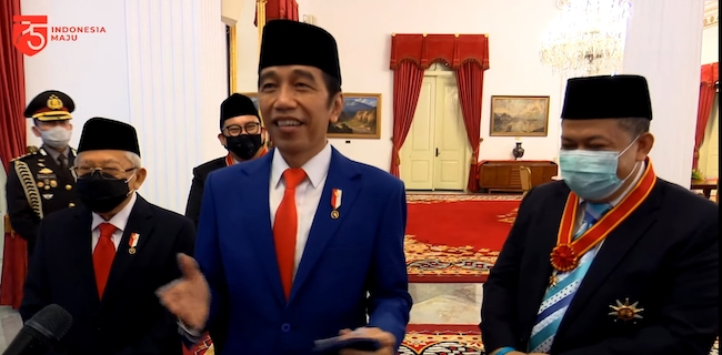 Jawab Polemik Penghargaan Fahri Hamzah Dan Fadli Zon, Jokowi: Inilah Indonesia
