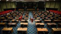 Ruang Kerja Ketua DPRD Jepara yang Meninggal Karena Positif COVID-19 Ditutup dan Disterilkan