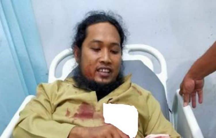 Kondisi Ustadz yang Ditusuk saat Ceramah Maulid Nabi di Aceh Membaik