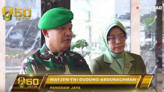 Mayjen TNI Dudung Abdurachman