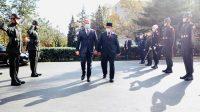 Menhan Prabowo Disambut Upacara Militer Saat Kunjungan ke Turki