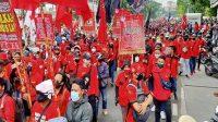 Massa Buruh Akan Kembali Gelar Demo Besok di Kemenaker