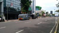 Jelang Demo Buruh, 2 Water Cannon-1 Baracuda Siaga di Jl Majapahit Jakpus