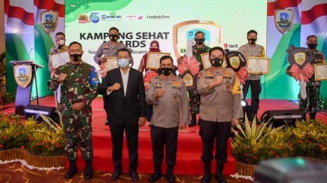 Polda NTB Beri Penghargaan Kepada Babinsa Sertu Mohamad Sohdi Karena Berhasil Bina Masyarakat Desa