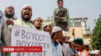 Puluhan Ribu Orang di Bangladesh Gelar Aksi Demo Boikot Produk Prancis