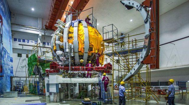 Reaktor HL-2M Tokamak China Vs Fusi Nuklir KSTAR Korsel, Canggih Mana ?