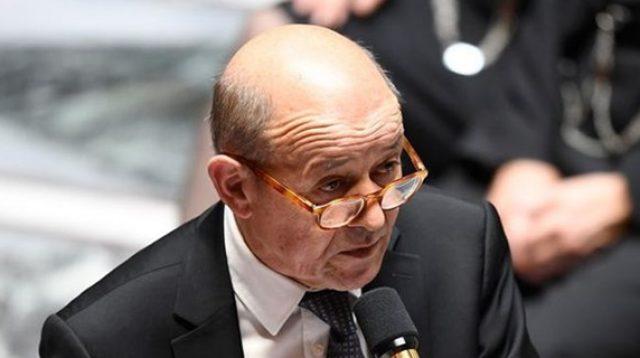 Menteri Luar Negeri Prancis Jean-Yves Le Drian