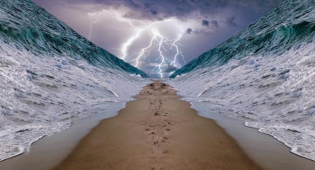 Ini Bukti Ilmiah Bahwa Nabi Musa Benar-Benar Membelah Laut Merah