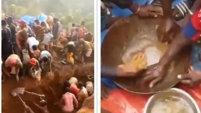 Viral Penemuan Gunung Emas di Kongo, Para Penambang Berdesakan