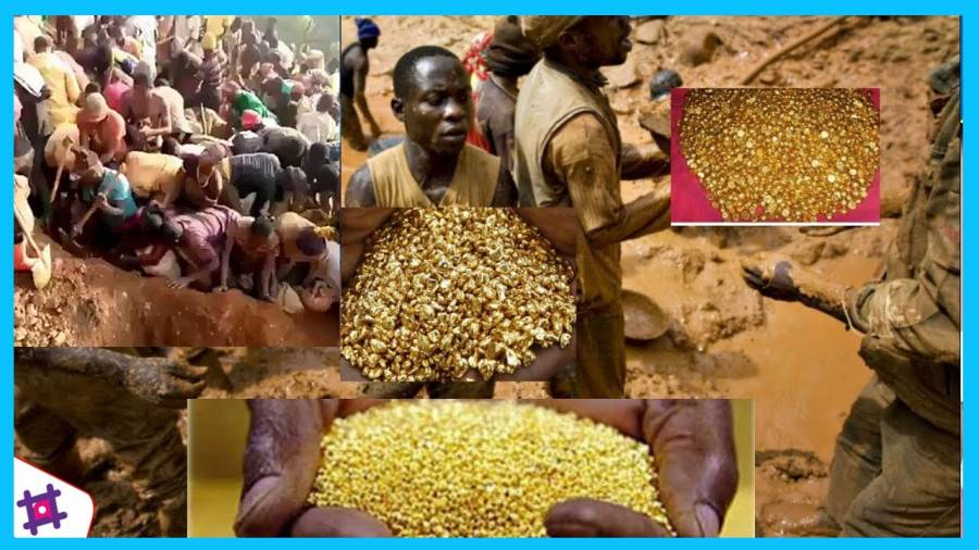 Wow, Gunung Emas Kongo Miliki Kandungan Berharga Capai 90%