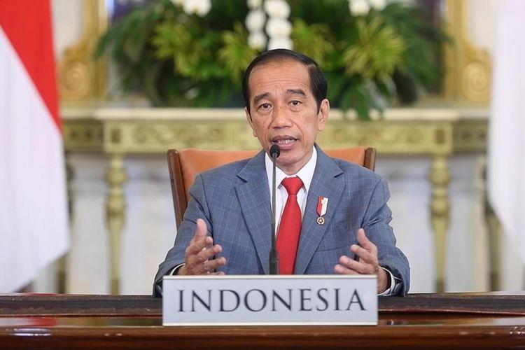 Jokowi Pastikan Para Istri Awak KRI Nanggala-402 Dapat Rumah, Anak Dapat Beasiswa Hingga S1