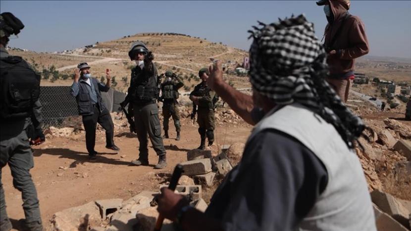Biadab, Israel Sita 85% Tanah Palestina di Tepi Barat
