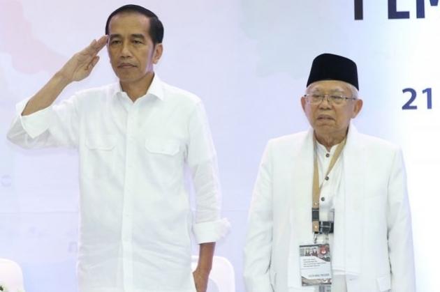 Tingkat Kepuasan Publik ke Jokowi Tinggi- Ma'ruf Rendah, IPO: Mungkin Wapres Tak Berani Tunjukkan Kerjanya