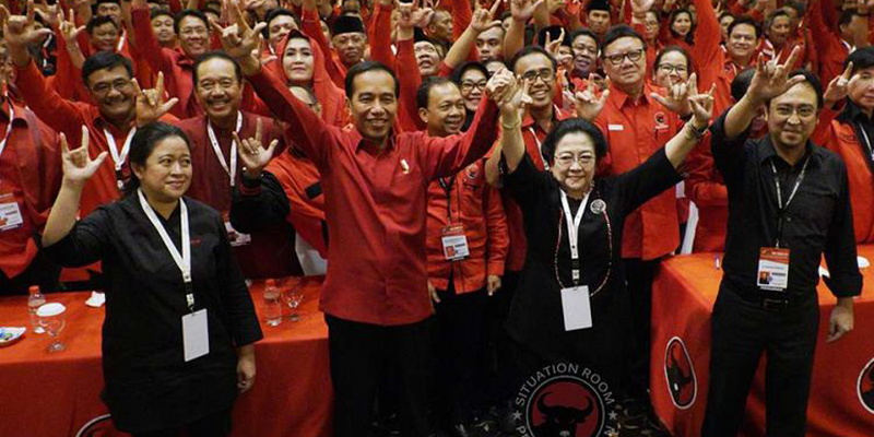 Masih Butuh PDIP, Jokowi Akan Netral, Tidak Ke Nanan Atau Puan