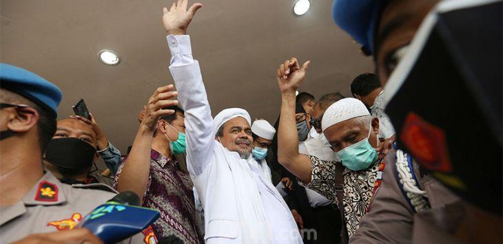 Habib Rizieq: Terima Kasih Polri dan Bareskrim, Semoga Dapat Terus Menjamin Penegakan HAM