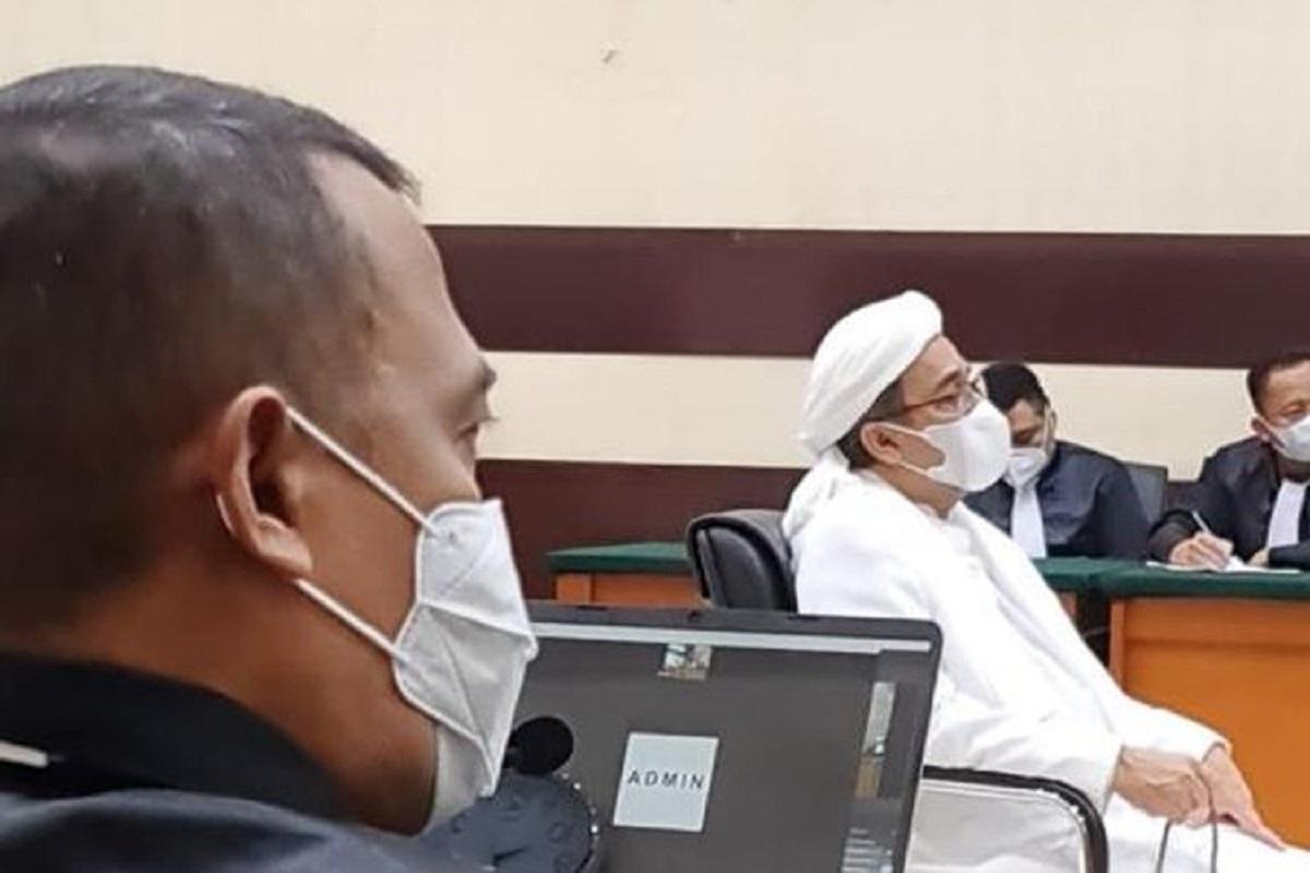 Sidang Habib Rizieq Shihab Kembali Digelar, Agenda Pemeriksaan Saksi