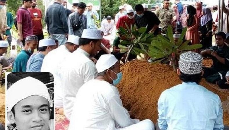 Santri Tahfidz Tewas Kecelakaan saat Akan Mengajar Ngaji, Wajahnya Laksana Orang Tertidur Lelap