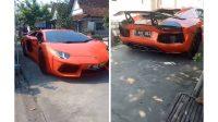 Warga Lamongan Kendarai Lamborghini Aventador Saat Mudik Lebaran Demi Teman SMP