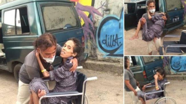Kisah Penjual Teh Tarik Dengan Sabar Merawat Istrinya yang Sakit Menahun: Aku Cuma Punya Kesetiaan