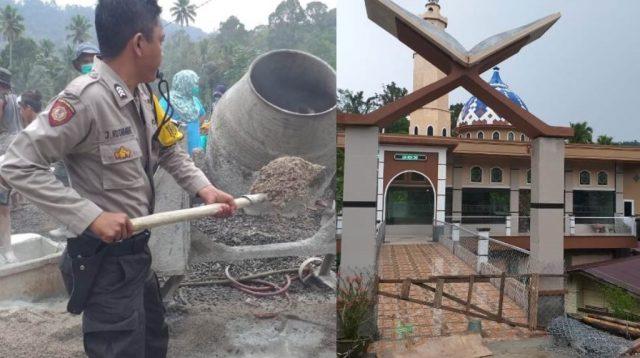 Toleransi Tingkat Dewa, Polisi Kristen Galang Dana Miliaran Bangun Masjid Megah