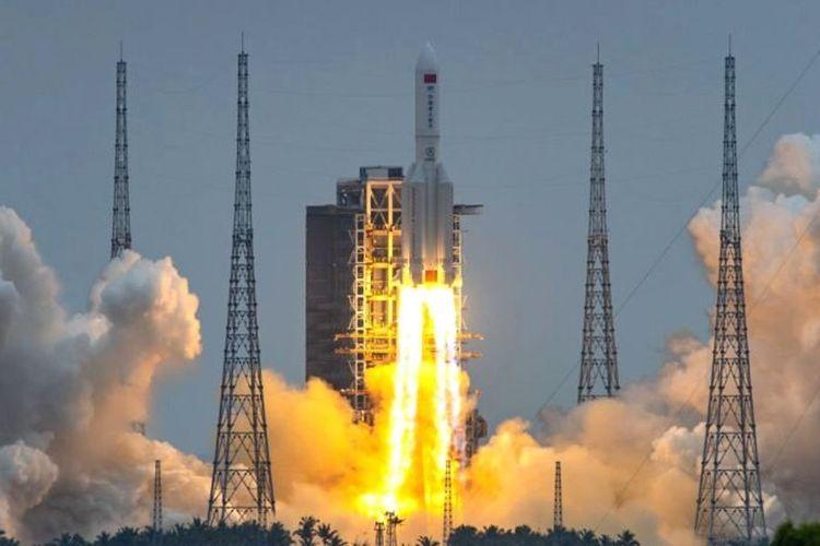 Was-was, Roket 18 Ton Milik China Jatuh ke Bumi Hari Ini, Lokasinya Masih Tanda Tanya!